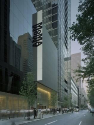 Nova fachada do MoMA, em Nova York, reformulada por Yoshio Taniguchi