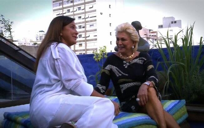Hebe Camargo entrevista Fafá de Belém