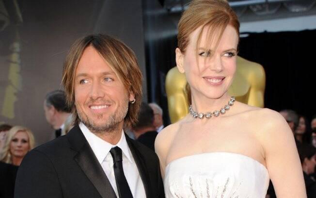 Nicole Kidman e Keith Urban no tapete vermelho do Oscar 2011