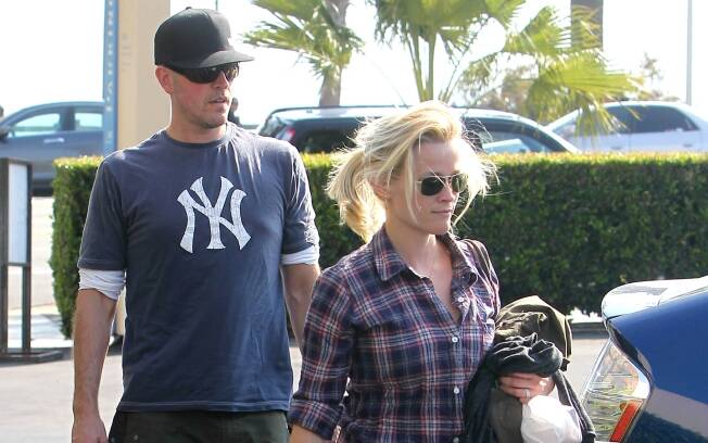 Reese Witherspoon e Jim Toth: jantar a dois