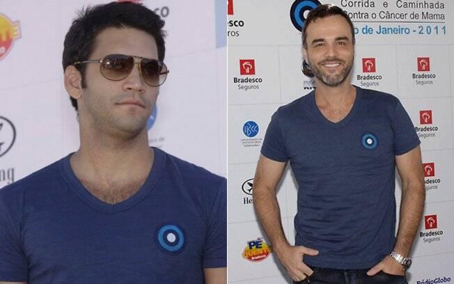 Armando Babaioff e Marcelo Valle também prestigiaram o evento no Rio