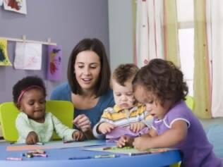 Crianças que frequentam creches demoram a adoecer