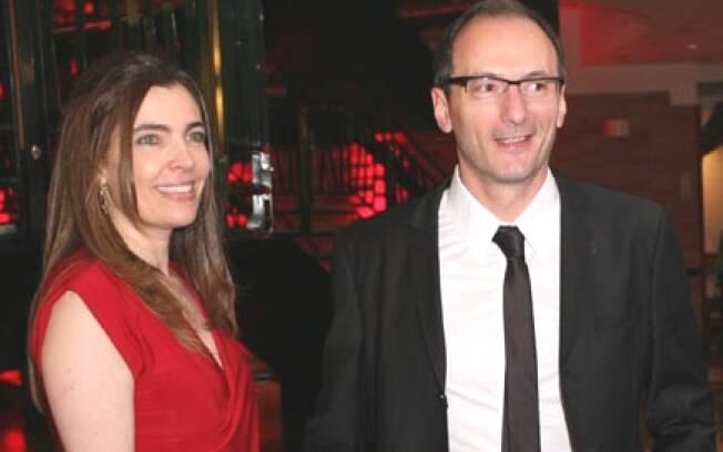 Britto Jr. e a mulher, Fernanda Britto: