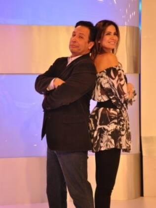 Wesley Sathler e Luciana Gimenez