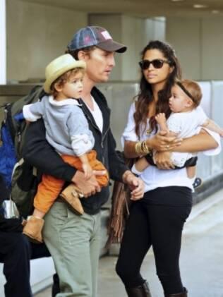 Matthew McConaughey e Camila Alves, Levi e Vida