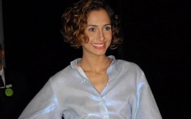 Camila Pitanga no último dia de SPFW, no sábado (18/06)