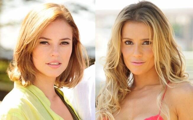 Paola Oliveira e Deborah Secco em