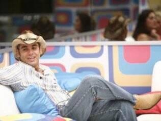 André Cowboy participou do BBB9