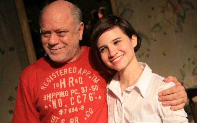 Tonico Pereira e Bianca Comparato