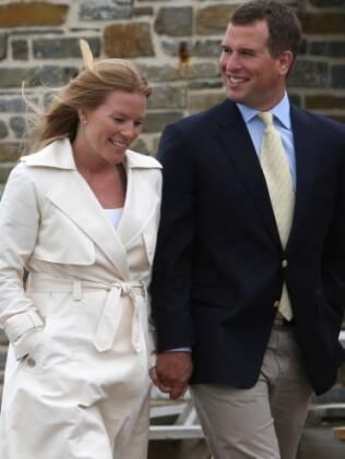 Peter Phillips e a mulher, Autumn