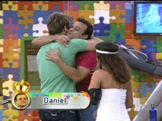 Daniel é o novo Líder e garante por mais tempo sua permanência na casa