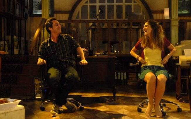 Ingrid Guimarães e Alexandre Nero em