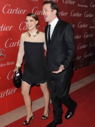 Natalie Portman e o diretor de