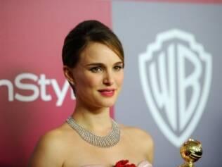 Natalie Portman: grávida de cinco meses, concorre ao Oscar de Melhor Atriz por