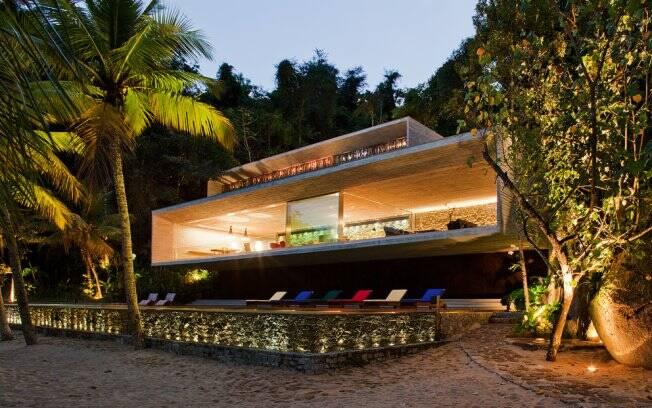 A Casa Paraty, do arquiteto Márcio Kogan, ganhou o primeiro lugar na categoria Edifício - Obras Construídas