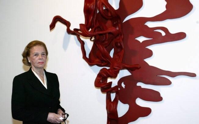 Lily Marinho era viúva do jornalista Roberto Marinho, fundador das Organizações Globo