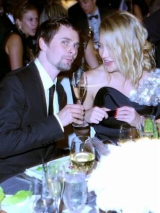 Matthew Bellamy e Kate Hudson: o casal espera um filho