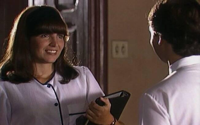 Maria Lúcia (Malu Mader) se apaixona por João Alfredo (Cássio Gabus Mendes) em