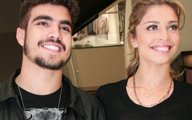 Caio Castro e Grazi Massafera são as estrelas do evento