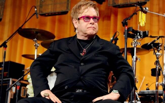 Elton John: candidato a fazer participação de luxo em