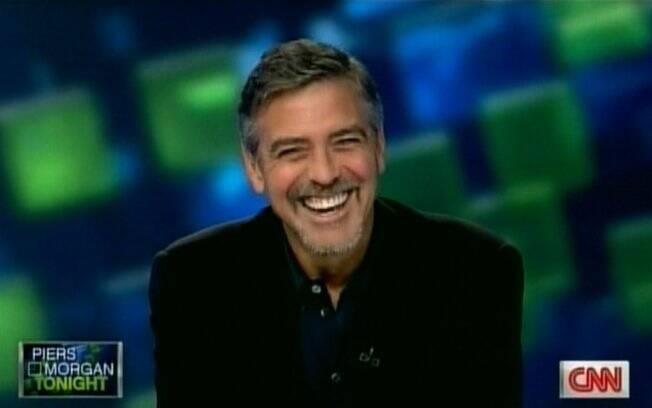 George Clooney no programa