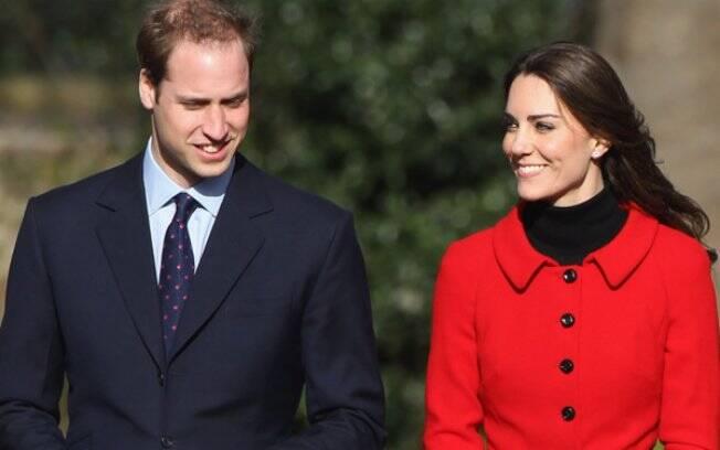 Kate Middleton e Príncipe William: site oficial sobre o casamento
