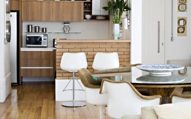 O charme de morar em um loft arquitetura ig - Cocinas para pisos pequenos ...