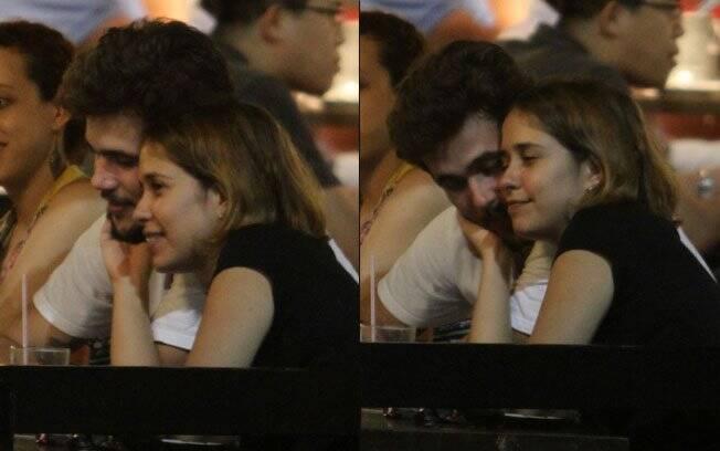 Paloma Duarte e Bruno Ferrari: apenas amizade?