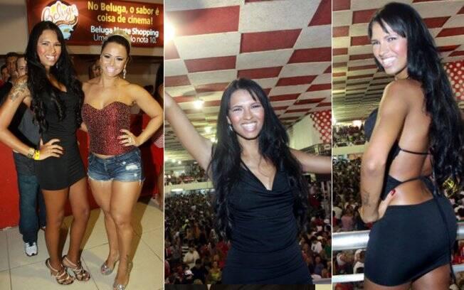 Ariadna Arantes cai no samba com Viviane Araújo
