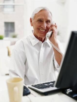 Cursos de informática estão entre os preferidos pelos aposentados