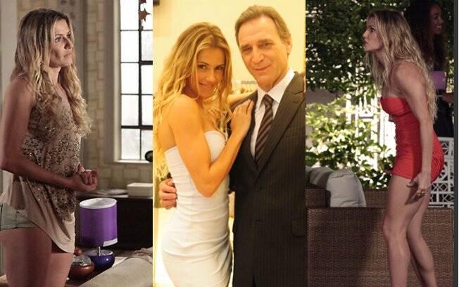 Vestidos e decotes: o namoro com Cortez deixou Natalie com um look mais sensual