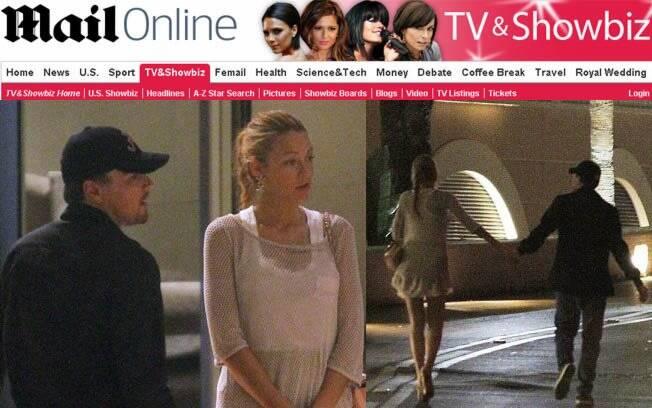 Leonardo DiCaprio e Blake Lively são flagrados de mãos dadas na saída de uma festa em Monte Carlo