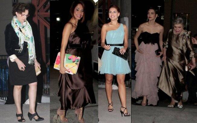 Ana Lúcia Torre, Camila Pitanga, Paloma Bernardi, Tainá Müller e Nathalia Timberg