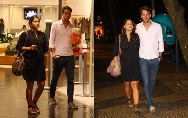 Priscila Fantin e Renan Abreu