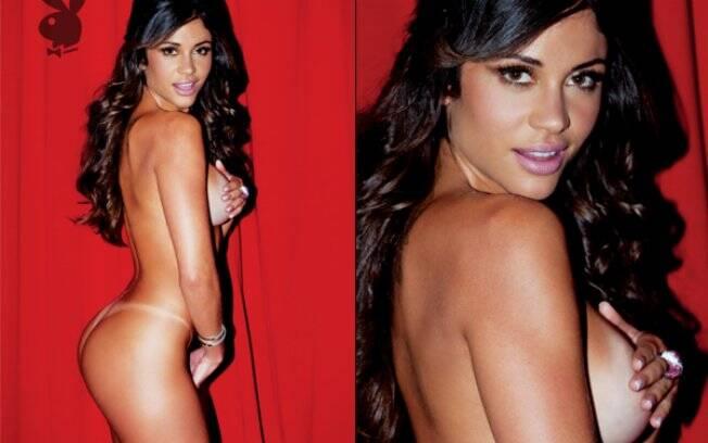 Maria Melilo, nua na Playboy: ensaio na Argentina