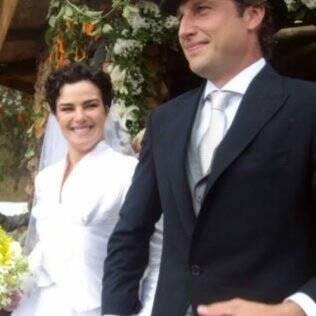 Ana Paula Arósio e Henrique Pinheiro