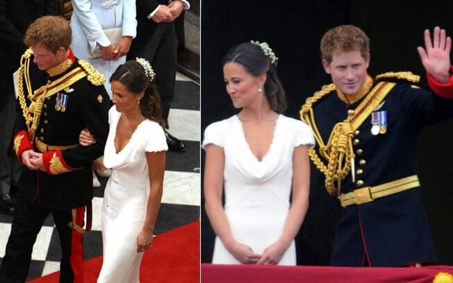Pippa Middleton e Príncipe Harry: a função de padrinhos do casamento real os aproximou