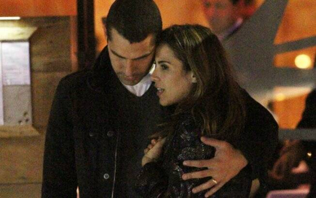 Marcus Buaiz e Wanessa Camargo: noite romântica em São Paulo