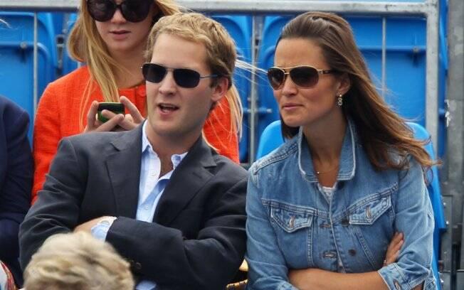 Pippa Middleton e o ex-namorado George Percy