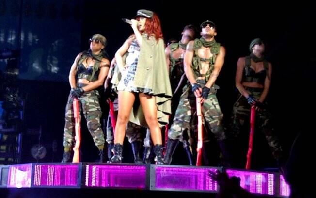 Rihanna se apresenta em Nova York
