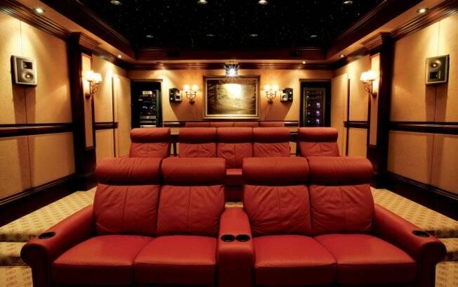 Home theater melhor do que cinema objetos de desejo ig - Sala home theatre ...