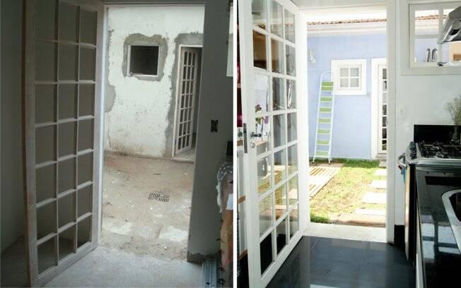 Uma casa de vila feita sob medida arquitetura ig - Reformas en casas pequenas ...