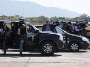 Polícia cerca Cortez durante tentativa de fuga