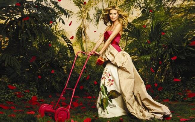 Heidi Klum: o novo rosto do shopping Cidade Jardim