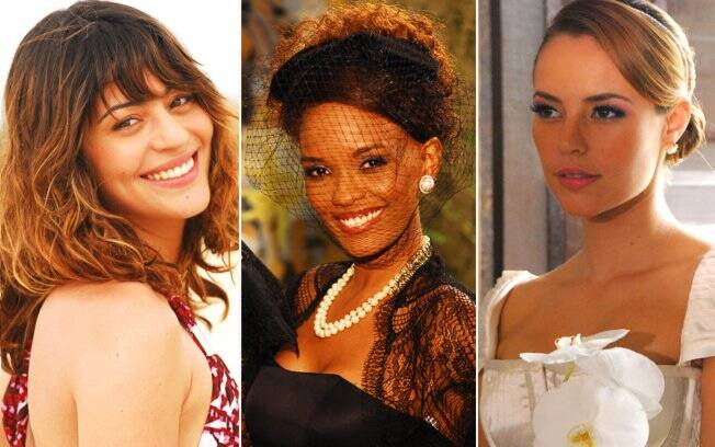As clientes Carol Castro, Isabel Fillardis e Paola Oliveira