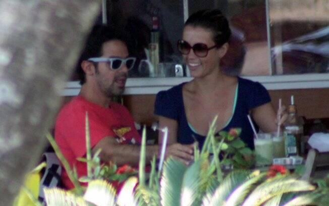 Bruno Mazzeo e Juliana Didone: juntos!