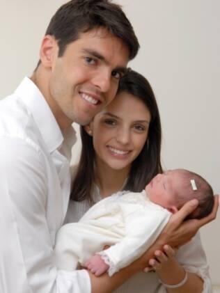 Kaká, Carol Celico e Isabella