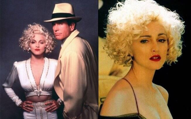"""Madonna como Breathless Mahoney em """"Dick Tracy"""""""