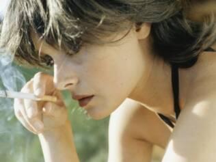 Cigarro: sensação de tranquilidade é ilusória