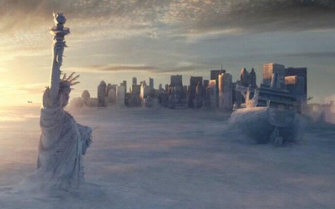 Resultado de imagem para estátua da liberdade congelada